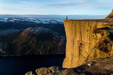 ノルウェーで一番観光客の多い崖、プレーケストーレンに行ってきた!