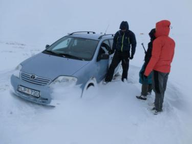 <海外キャンプ> 絶景だらけのアイスランド、DAY2。「吹雪で遭難」