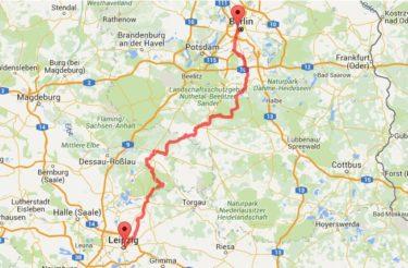 自転車でベルリンからライプツィヒへ!